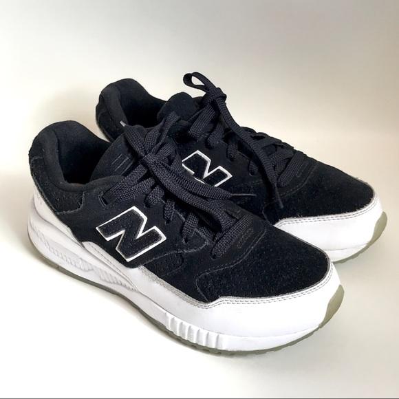 Balance 53 Black Suede Sneakers   Poshmark